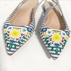 JCrew. Limited edition Perfect summer beaded flats